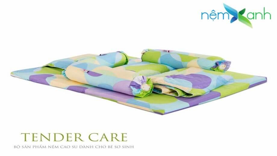 Chăm lo tốt sức khỏe cho trẻ sơ sinh bằng sản phẩm Nệm cao su Vạn Thành Tender Care